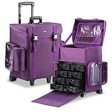 MUA LIMITED Professional Beauty Trolley Makeup Artist Trolley Case Soft Cosme...