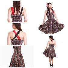 Ladies DC Comics Batman Harley Quinn Goth Gothic Dress ~ Size 12 ~ BNWT £49.99
