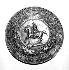 1861 to 1864 Civil War Great Confederate Seal C.S.A.