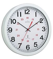 Acctim Controller Radio Controlled Wall Clock Accurate Split Second Time Clocks