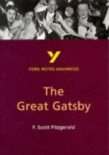 "York Notes on F.Scott Fitzgerald's ""Great Gatsby"" (York Notes Advanced)"