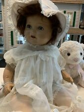 """Antique Vintage 21"""" American Character Composition Mamma Marked: Am. Char. Doll"""