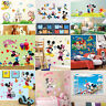 Mickey Minnie Mouse Cartoon Wall Sticker Decal Kid Nursery Mural Decor Xmas Gift