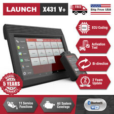 2020 New LAUNCH X431 V+ OBD2 Full System Auto Code Scanner Diagnostic Tool UPS