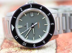 Nodus Contrail II Grey Automatic Watch Full Kit