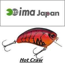 """ima Square Bill Crankbait MADE IN JAPAN 2-1/4""""  3/8 oz. COL Hot Craw IL TOP!!!"""