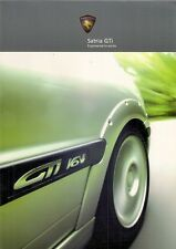 Proton Satria GTi 2003-04 UK Market Sales Brochure