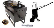 Asphalt Crack Sealing Kettle Pour Pot on Wheels Crack filling cart Sealcoating