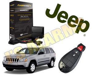 2008 2009 2010 2011 2012 Jeep Grand Cherokee Remote Start Add On 3X Lock OEM CH4