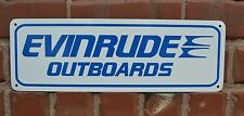EVINRUDE Outboards Sign Marina Bass Boat Motor Johnson