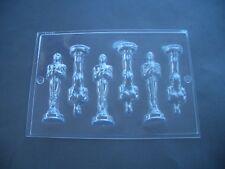 6 in 1 PREMIO TROFEO STATUA CIOCCOLATO STAMPO STAMPI / / 10.5 cm di altezza / MAKE 3 x FIGURE 3D