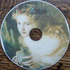 Vintage fées angels elf nursery rhyme alphabet affiches art 1750 images dvd