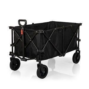 Picnic Time Family  Adventure Wagon XL, (Black)