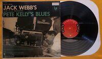 VINYL LP PETE KELLY'S BLUES MATTY MATLOCK JACK WEBB'S COLUMBIA 6 EYE CL 690