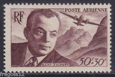 FRANCE 1947 - POSTA AEREA - ANTOINE SAINT EXUPERY - F. 50 - MNH