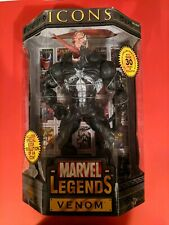 Toy Biz Marvel Legends Icons Venom (Unmasked)  Brand New, Factory Sealed!