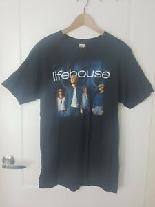 Lifehouse US Tour Shirt 2010 Size XL