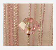 Eve Split Decorative Door String Curtain Wall Panel Fringe Window Room Divider B