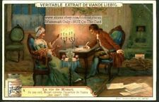 Mozart Composes Don Juan In 1787 1906 Trade Ad Card