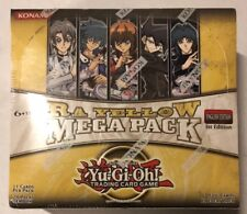 Yugioh Ra Yellow Mega Pack 1st Edition 24-count Booster Box Card Game TCG