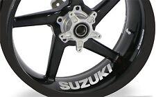 4x Suzuki GSX-R 750 600 1000 Wheel Rim Sticker Decal Any Colour
