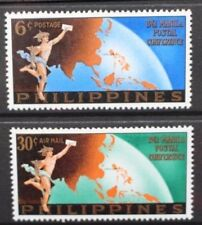 PHILIPPINES 1961 Manila Postal Conference. Set of 2. Mint Never Hinged SG867/868