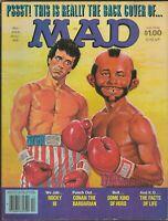 ORIGINAL Vintage Dec 1982 Mad Magazine #235 Rocky III Facts of Life Conan
