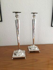 Kerzen Leuchter Paar Silber 925