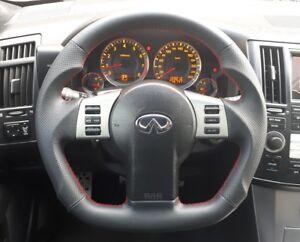 Sport Steering Wheel Black for Infiniti FX35 FX45 Nissan 350z