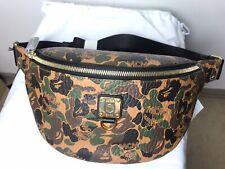 McM x Bape Belt Bag / Fanny Pack New