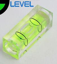 Rectangular Cube Spirit Level Bubble Measuring Leveller Detector 29 x 10 x 10mm