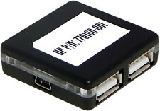 HP USB 2.0 4-PORT Mini HUB Bare Unit Only 778160-001 Unit Only No Accesories