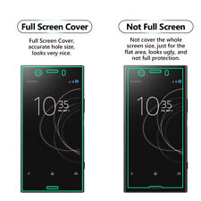 Pack of 3 Anti-Scratch FULL Screen Protector Guard Film- Sony Xperia XZ2 Compact