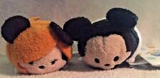 2 DISNEY MINI TSUM TSUM FROM THE TOWER OR TERROR MINNIE MOUSE AND MICKEY MOUSE