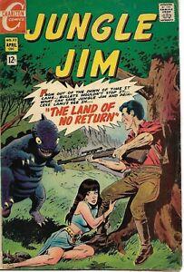 Jungle Jim #23 Charlton Comic 1969 VG-