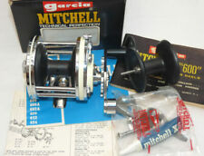 Mitchell 602AP multiplier reel in best collector condition box tools boat sea...