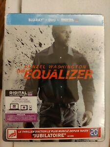 The Equalizer Bluray Steelbook, French Edition, New/Sealed