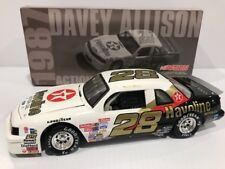 1987 Texaco Havoline Davey Allison Ford Thunderbird Rookie  Year Hall of Fame