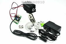 300mw 808nm Infrared IR Laser Diode Module Dot/Line/Cross w/12V Adapter & Holder
