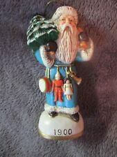 Memories of Santa Collection, 1900 Belgium Santa Ornament