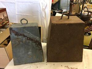 Zwei alte Glocken Hofglocke Türglocke bis H 26 cm