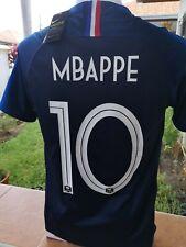 Maillot MBAPPE Équipe de France 2 étoiles 2018-2019 Taille S M ou L
