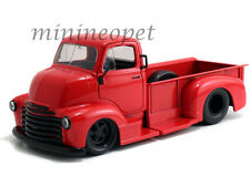 JADA 97046 1952 CHEVROLET COE PICK UP TRUCK 1/24 RED with BLACK WHEELS
