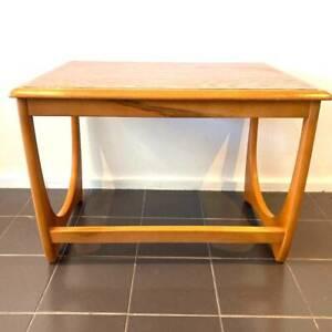 Authentic Kalmar medium nest coffee table restored golden honeycomb