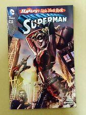 SUPERMAN #47 HARLEY QUINN BERMEJO COLOR VARIANT COVER 1ST PRINT DC COMICS (2016)