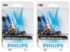 Philips HB3 Diamond Vision 5000K Car Headlight Bulbs 9005DVS2 (pack of 2)