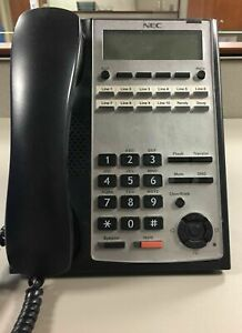 NEC SL1100 Phone IP4WW-12TXH-B-TEL (BK) 1100061 BE110270 Black *90 DAY WARRANTY*
