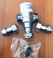 Bristan MT503CP Mini Thermostatic Mixing Valve Instructions Commercial Health