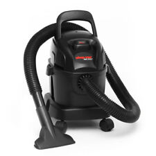 Wet & Dry Vacuum 4L Shop Vac Micro 4 1100W Portable Vacuum Cleaner in Black