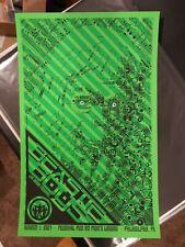 New listing Beastie Boys Todd Slater 2007 Penn's Landing Pa S/N Poster Green Variant 22/25